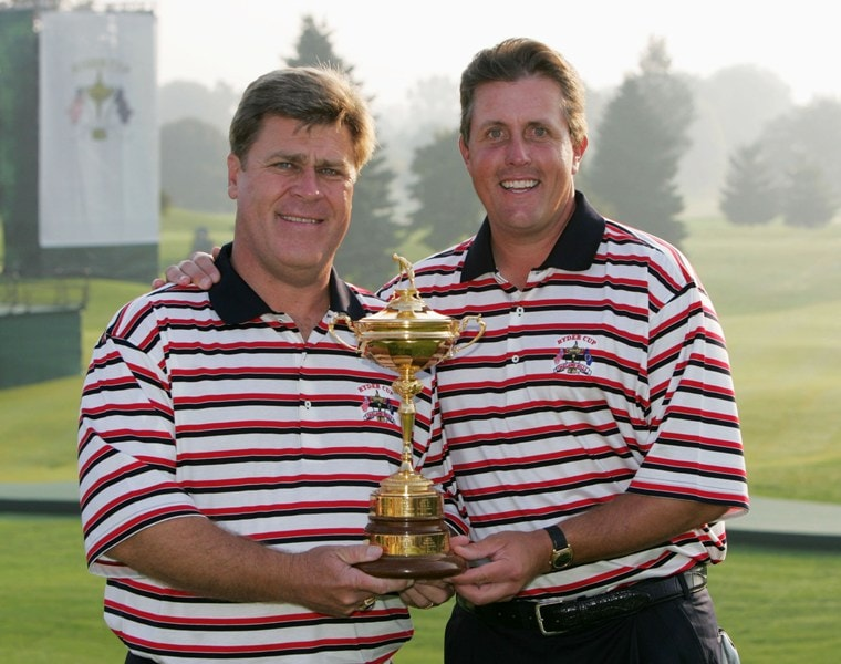 Phil Mickelson at the 2004 Ryder Cup