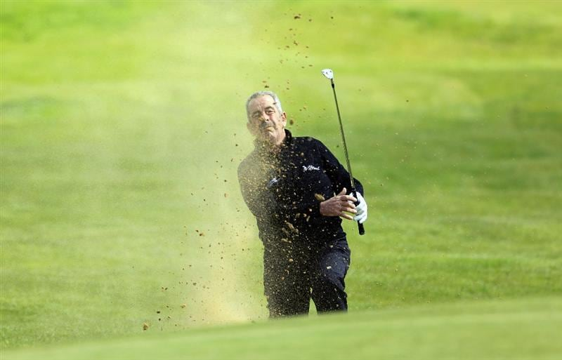 MELTON MOWBRAY, ENGLAND - MAY 13:  Sam Torrance of Scotland in action during the second round of the Handa Senior Masters presented by the Stapleford Forum played at Stapleford Park on May 13, 2010 in Melton Mowbray, England.  (Photo by Phil Inglis/Getty Images)
