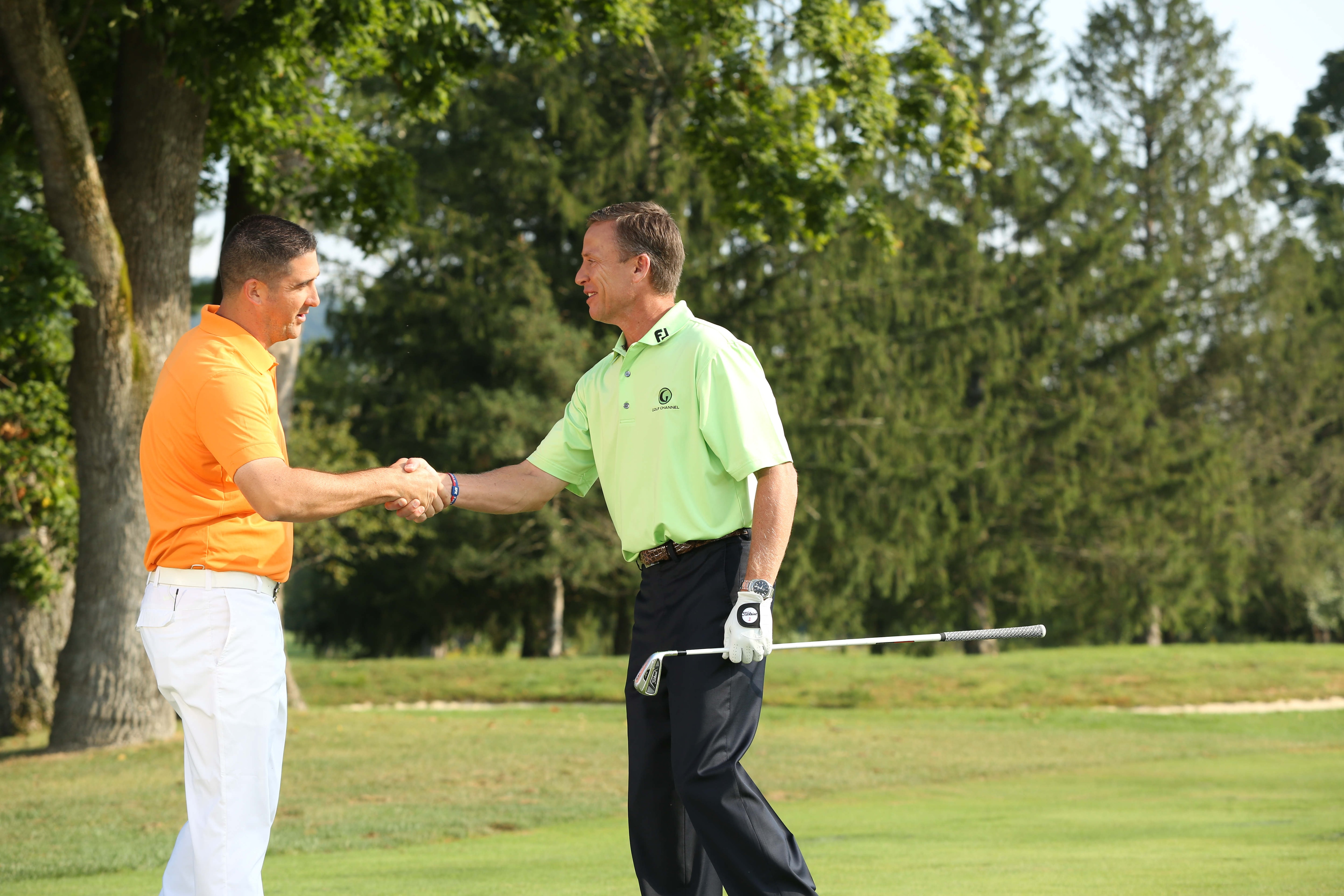 Big Break Academy Greenbrier, Michael Breed and Anthony Casalino
