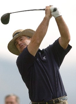 Blaine McCallister in action during the first round of the PGA's Tour 2005 Chrysler Classic of Tucson at the Omni Tucson National Golf Resort & Spa February 24, 2005 in Tuscon, Arizona