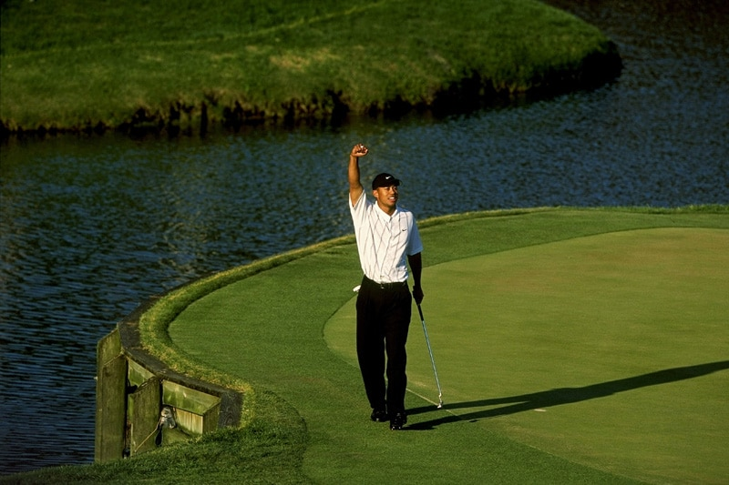 Tiger Woods, 2001 Players Championship