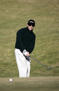 Tim Wilkinson during the third round of the Nationwide Tour Championship held  on the Senator course at Capitol Hill GC in Prattville, Alabama on Saturday, October 29, 2005.Photo by Sam Greenwood/WireImage.com