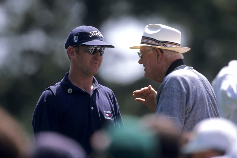 David Duval and Byron Nelson