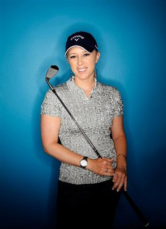 CITY OF INDUSTRY, CA - MARCH 23:  Morgan Pressel poses for a portrait on March 23, 2011 at the Industry Hills Golf Club in the City of Industry, California.  (Photo by Jonathan Ferrey/Getty Images)