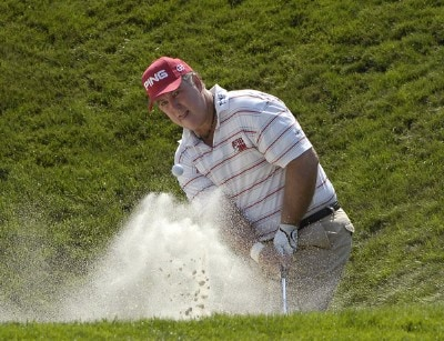Ed Dougherty during the first round of the Boeing Greater Seattle Classic at the TPC Snoqualmie Ridge in Snoqualmie, Washington on Friday, August 18, 2006.Photo by Marc Feldman/WireImage.com
