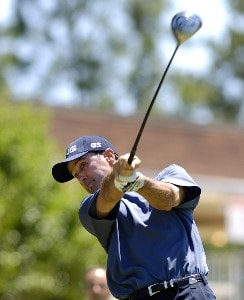 Glen Hnatiuk during the second round of the Rheem Classic presented by Times Record held at Hardscrabble Country Club in Fort Smith, AR, on May 12, 2006.Photo by Steve Levin/WireImage.com