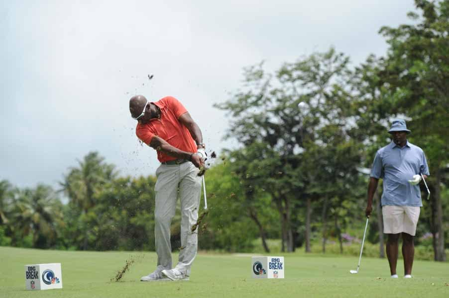 Jerry Rice on Big Break NFL Puerto Rico