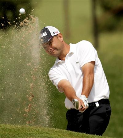 BARCELONA, SPAIN - MAY 05:  Sebi Garcia of Spain during the first round of the Open de Espana at the the Real Club de Golf El Prat on May 5 , 2011 in Barcelona, Spain.  (Photo by Ross Kinnaird/Getty Images)
