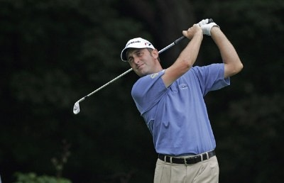 Jeff Gove during the first round of the John Deere Classic at TPC at Deere Run in Silvis, Illinois on July 13, 2006.Photo by Michael Cohen/WireImage.com