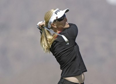 Carin Koch during the third round of the 2006 Safeway International, Saturday, March 18, 2006 at Superstition Mountain Golf and Country Club in Superstition Mountain, ArizonaPhoto by Marc Feldman/WireImage.com