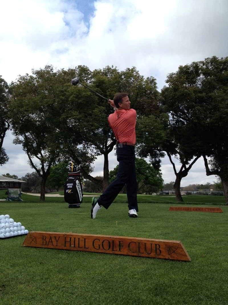 The Golf Fix, Michael Breed