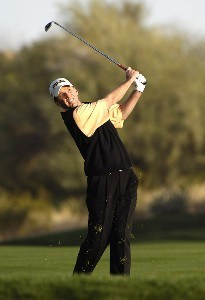 Kevin Sutherland in action during the second round of the FBR Open at the TPC Players Course on  Friday, January 3, 2006 in Scottsdale, Arizona.Photo by Marc Feldman/WireImage.com