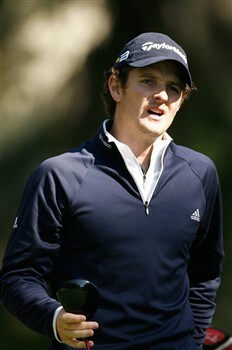 HILTON HEAD, SC - APRIL 17:  Justin Rose of England reacts to his tee shot on the 2nd hole during the first round of the Verizon Heritage at Harbour Town Golf Links on April 17, 2008 in Hilton Head, South Carolina.  (Photo by Streeter Lecka/Getty Images)