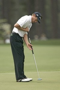 Nick O'Hern during the second round of the 2006 Masters at the Augusta National Golf Club in Augusta, Georgia on April 7, 2006.Photo by Sam Greenwood/WireImage.com
