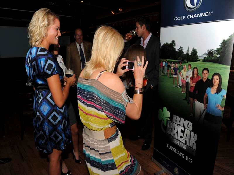 Big Break Ireland Premiere Party, Annie Brophy and Nicole Smith