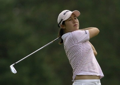 Aree Song during the first round of  the Canadian Women's Open at the London Hunt and Country Club in London, Ontario on August 10, 2006.Photo by Steve Levin/WireImage.com