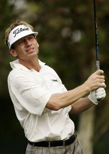 Brad Faxon during the first round of the 2006 FUNAI Classic at WALT DISNEY WORLD Resort on the Palm Course and the Magnolia Course in Lake Buena Vista, Florida, on October 19, 2006. PGA TOUR - 2006 FUNAI Classic at the WALT DISNEY WORLD Resort - First RoundPhoto by Sam Greenwood/WireImage.com