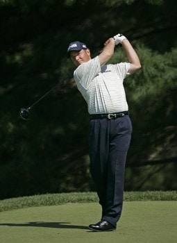 Ted Purdy of the United States during the first round of the NEC Invitational at Firestone Country Club in Akron, Ohio on August 18, 2005..Photo by Chris Condon/PGA TOUR/WireImage.com