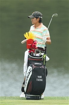 HAVRE DE GRACE, MD - JUNE 04: Yani Tseng of Taiwan waits to hit her second shot on the 9th fairway during practice for the 2008 McDonald's LPGA Championship held at Bulle Rock Golf Course, on June 4, 2008 in Havre de Grace, Maryland.  (Photo by David Cannon/Getty Images)