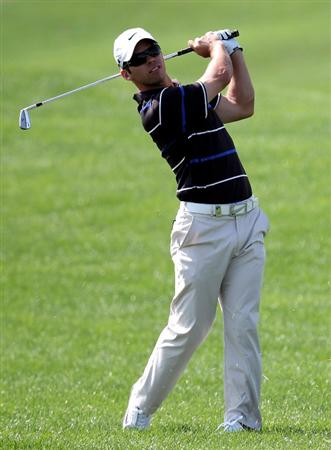 ABU DHABI, UNITED ARAB EMIRATES - JANUARY 23:  Paul Casey of England on the 13th hole during the third round of the Abu Dhabi Golf Championship at the Abu Dhabi Golf Club on January 23, 2010 in Abu Dhabi, United Arab Emirates.  (Photo by Ross Kinnaird/Getty Images)