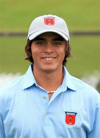 NEWPORT, WALES - SEPTEMBER 28:  Rickie Fowler of the USA poses for a portrait during the USA Team Photocall prior to the 2010 Ryder Cup at the Celtic Manor Resort on September 28, 2010 in Newport, Wales.  (Photo by David Cannon/Getty Images)