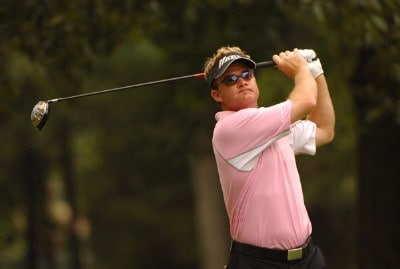 Brian Gay during the second round of the Stanford st. Jude Championship at the TPC Southwinds on Friday June 8, 2007 in Memphis, Tennessee PGA TOUR - 2007 Stanford St. Jude Championship - Second RoundPhoto by Marc Feldman/WireImage.com