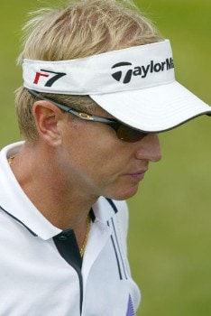 Philip Golding (GBR) during the third round of the 2005 Open de France at Le Golf National in St. Quentin, France on June 25, 2005.Photo by Alexanderk/WireImage.com