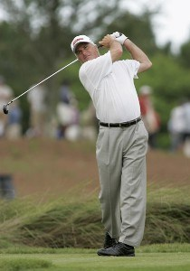 Curtis Strange during the third and final round of the Boeing Championship at Sandestin at Raven Golf Club in Destin, Florida on May 14, 2006.Photo by Michael Cohen/WireImage.com