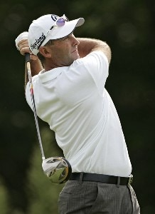 David McKenzie during the first round of the 2006 Deutsche Bank Championship held at TPC Boston in Norton, Massachusetts on September 1, 2006.Photo by Michael Cohen/WireImage.com