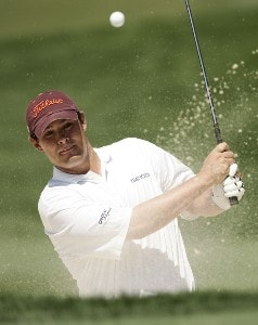 Johnson Wagner during a practice round at the 2007 Wachovia Championship held at the Quail Hollow Country Club in Charlotte, North Carolina on Tuesday, May 1, 2007. Photo by Sam Greenwood/WireImage.com