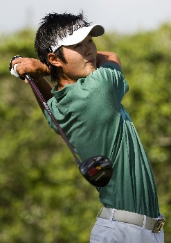 PINEHURST, NC - AUGUST 24: Danny Lee of New Zealand watches his drive on the 12th hole during the final round of the U.S. Amateur Championship at Pinehurst Resort & Country Club August 24, 2008 in Pinehurst, North Carolina.  (Photo by Chris Keane/Getty Images)