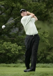 Arron Oberholser during the first round of the Barclays Classic held at Westchester Country Club in Rye, New York on June 8, 2006.Photo by Chris Condon/PGA TOUR/WireImage.com