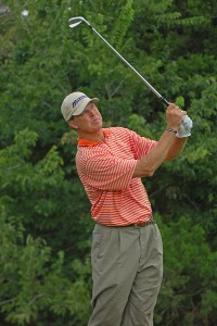 Bob Tway in action during the third round of the Valero Texas Open held at The Resort Course at La Cantera on Saturday, September 23, 2006 in San Antonio, Texas PGA TOUR - 2006 Valero Texas Open - Third RoundPhoto by Marc Feldman/WireImage.com