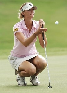Catherine Cartwright in action during first round of the inaugural 2006 Fields Open in Hawaii at Ko Olina Golf Club in Kapolei, Hawaii February 22, 2006.Photo by Steve Grayson/WireImage.com