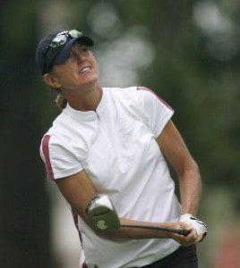 Michele Redman during the first round of the 2006 Wendy's Championship for Children held at Tartan Fields Golf Club in Dublin, Ohio on August 24, 2006.Photo by Kevin C.  Cox/WireImage.com