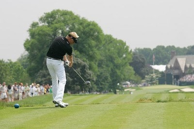 Peter Hedblom during the third round of the 2006 U.S. Open Golf Championship at Winged Foot Golf Club in Mamaroneck, New York on June 17, 2006.Photo by Michael Cohen/WireImage.com