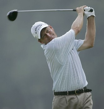Mark Brooks during the first round of the 2005 PGA Championship at Baltusrol Golf Club in Springfield, New Jersey on August 11, 2005.Photo by Christopher Condon/WireImage.com
