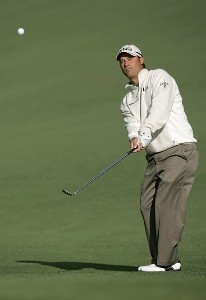 Chris DiMarco on the second hole during the first round of the 2007 Masters at the Augusta National Golf Club in Augusta, Georgia, on April 5, 2007. The 2007 Masters - First RoundPhoto by Mike Ehrmann/WireImage.com