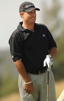 Tom Carter in action during the second round of the 2005 Mark Christopher Charity Classic Presented by Adelphia at Empire Lakes Golf Course in Rancho Cucamonga, California September 16, 2005.Photo by Steve Grayson/WireImage.com