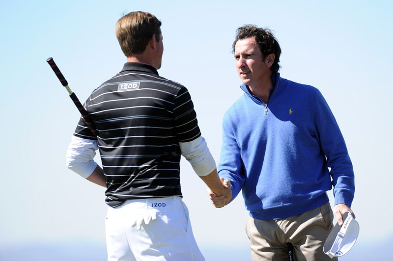 Webb Simpson and Gonzalo Fernandez-Castano