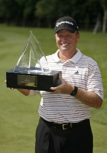 Lonnie Nielsen wins the 2007 Commerce Bank Championship being held at the Red Course at Eisenhower Park in East Meadow, NY on July 1, 2007. Photo by Mike Ehrmann/WireImage.com