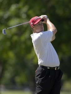 Darron Stiles during the third round of the Rheem Classic presented by Times Record held at Hardscrabble Country Club in Fort Smith, Arkansas, on May 13, 2006.Photo by Steve Levin/WireImage.com