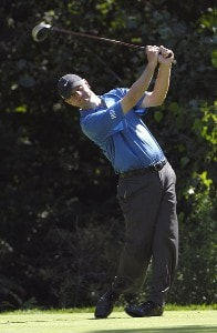 SILVIS, IL - JULY 12:  Lucas Glover during the first round of The John Deere Classic at the TPC Deere Run on July 12, 2007 in Silvis, Illinois.  (Photo by Marc Feldman/WireImage) *** Local Caption *** Zach Johnson PGA - John Deere Classic - First RoundPhoto by Marc Feldman/WireImage) *** Local Caption *** Zach Johnson