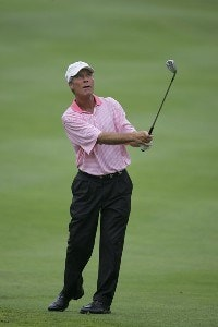 Ben Crenshaw during the second round of the Commerce Bank Championship on the Red Course at Eisenhower Park  in East Meadow, New York on June 24, 2006.Photo by Michael Cohen/WireImage.com