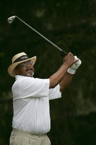 Jim Thorpe during the first round of the Commerce Bank Championship on the Red Course at Eisenhower Park  in East Meadow, New York on June 23, 2006.Photo by Michael Cohen/WireImage.com