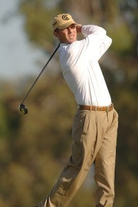 Jonathan Kaye in action during the second round of the PGA TOUR's 2006 Buick Invitationa at Torrey Pines South in La Jolla, California January 27, 2006Photo by Steve Grayson/WireImage.com