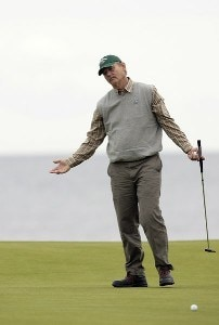 Bill Murray during the first round of the 2006 Alfred Dunhill Links Championship held on the Kingsbarns Golf Links in Kingsbarns, Scotland on October 5, 2006. European Tour - 2006 Alfred Dunhill Links Championship - First RoundPhoto by Pete Fontaine/WireImage.com
