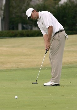 Bo Van Pelt in action during the second round of the Southern Farm Bureau Classic at Annandale Golf Club in Madison, Mississippi on November 4, 2005.Photo by Michael Cohen/WireImage.com