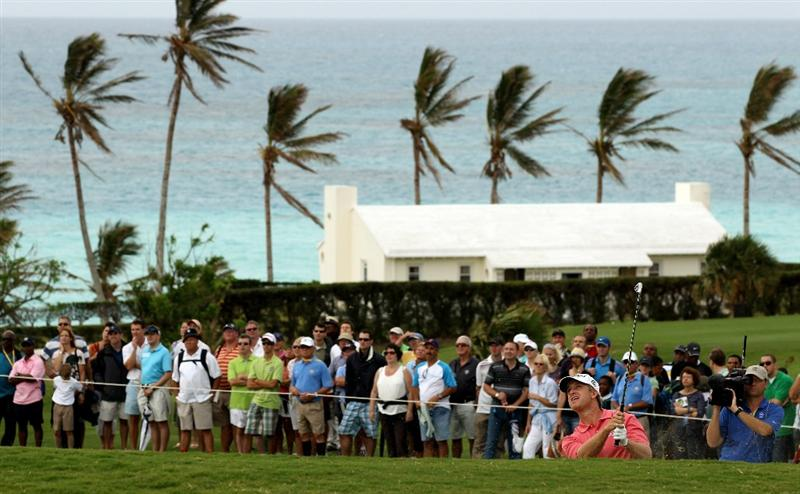 SOUTHAMPTON, BERMUDA - OCTOBER 20:  David Toms of the USA during the final round of the 2010 PGA Grand Slam of Golf at The Port Royal Golf Course on October 20, 2010 in Southampton, Bermuda.  (Photo by Ross Kinnaird/Getty Images)