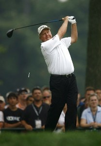Billy Mayfair  during the third round of the 88th PGA Championship at Medinah Country Club in Medinah, Illinois, on August 19, 2006.Photo by Mike Ehrmann/WireImage.com